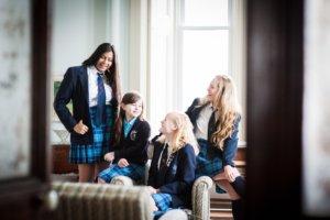 Trafalgar Girls in Common Room