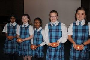 Diwali Assembly Presentation by Grade 4 Students