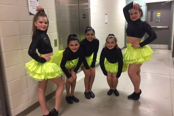 Dance Pac poses at competition.