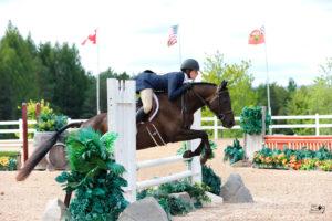 Jamie M, Grade 8, riding