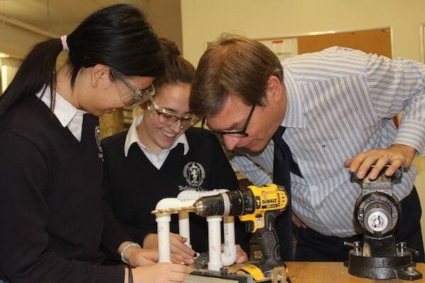Robotics building for the Project Management Course