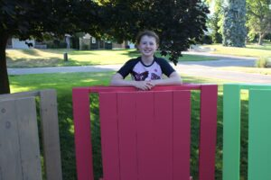 Picnic Tables by Aubrey