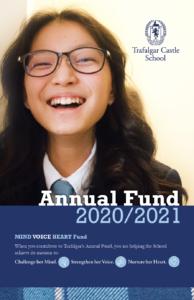 Trafalgar Annual Fund 2020:2021 Cover Shot