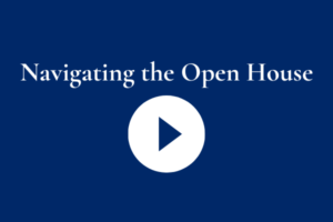 Website Navigating the Open House 2020