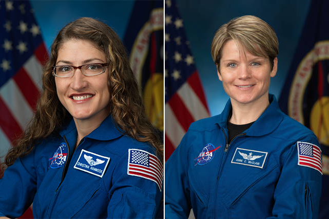 All Female Spacewalk Blog Image